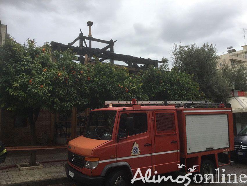 Σε εμπρησμό οφείλεται η φωτιά που ξέσπασε στο πρώην «Ξύλινο»