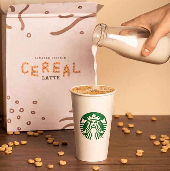 Starbucks: Τα πρωινά δημητριακά γίνονται…καφές