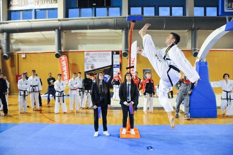 Στο Παλαιό Φάληρο έγιναν οι Πανελλήνιοι αγώνες Tae kwon do