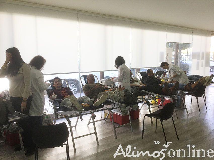 Σε εξέλιξη η Εθελοντική Αιμοδοσία του Δήμου Αλίμου