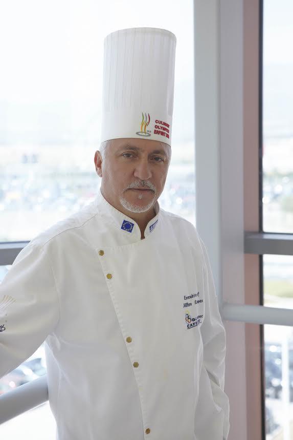 Ο Αλιμιώτης Μίλτος Καρούμπας, ανάμεσα στους καλύτερους σεφ του 2019
