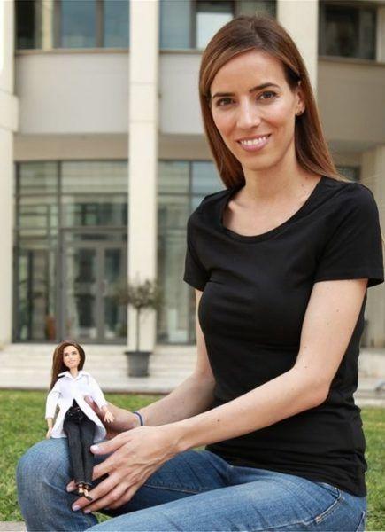 Ελένη Αντωνιάδου: Η Ελληνίδα της NASA έγινε Barbie