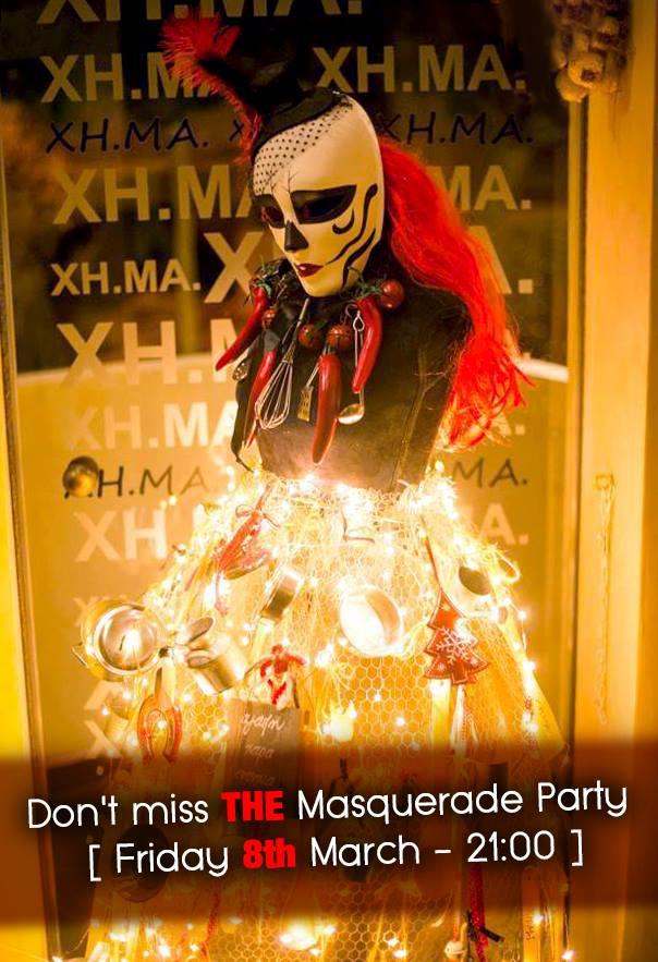 Απόψε το αποκριάτικο πάρτι του «ΧΗ.ΜΑ»