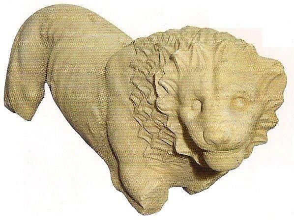 Μαρμάρινα αγάλματα λιονταριών και ταύρου είχαν βρεθεί στο Καλαμάκι