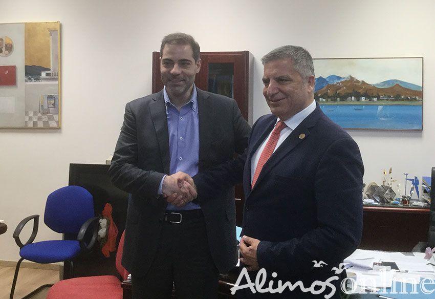Eπίσκεψη του υποψήφιου Περιφερειάρχη Αττικής Γιώργου Πατούλη στον Άλιμο