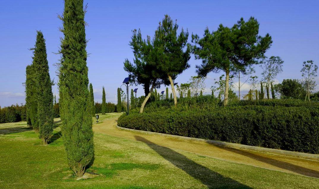 Ένα νέο πάρκο 22 στρεμμάτων λειτουργεί ήδη στο Τροκαντερό