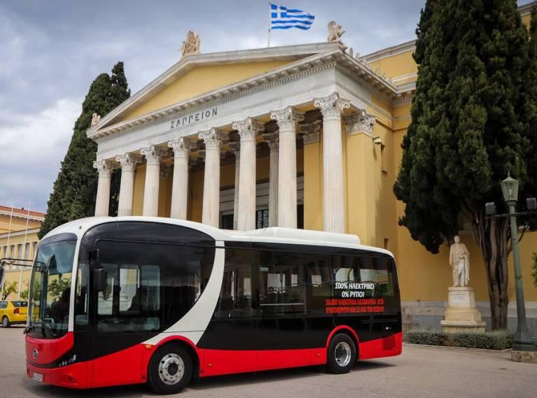 Το πρώτο ηλεκτρικό λεωφορείο σύντομα θα κυκλοφορεί στους δρόμους