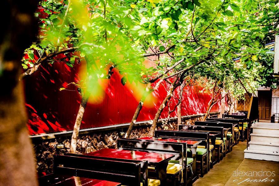 O' Canto Pub: Η καταπράσινη αυλή της σας περιμένει για καφέ, φαγητό και μπύρα