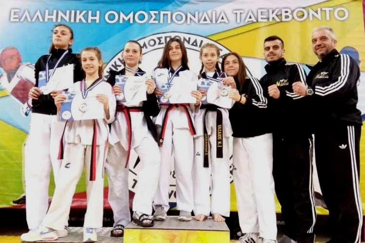 Με 6 μετάλλια επέστρεψε ο Α.Σ «ΦΩΚΕΑΣ» από το 4ο Κύπελλο Ακρόπολης