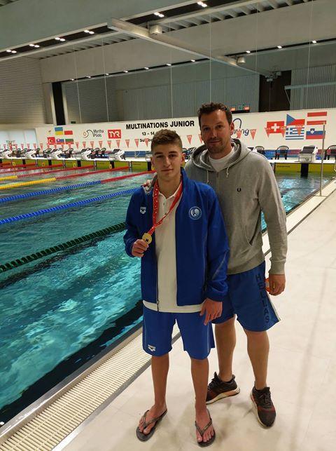 O Δημήτρης Μάρκος του Ν.Ο Καλαμακίου ανάμεσα στους αθλητές που έθεσαν νέο πανελλήνιο ρεκόρ εφήβων στην κολύμβηση