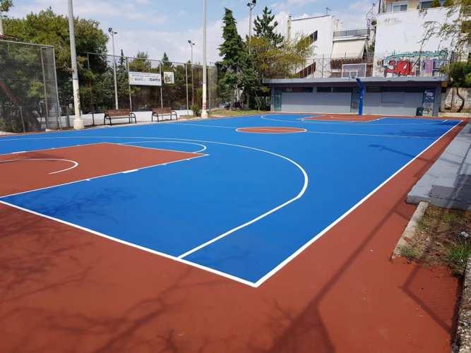 Ένα νέο γήπεδο μπάσκετ κοντά στον σταθμό του Μετρό «Αργυρούπολη»