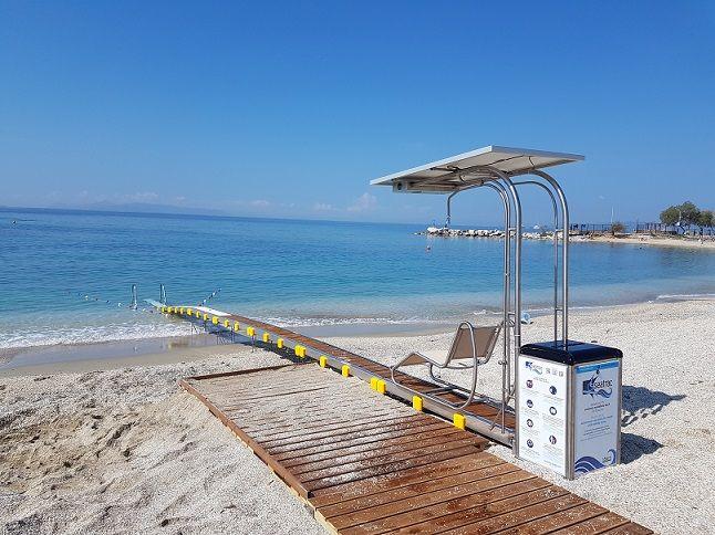 Άλιμος: Εγκαινιάζεται το έργο για την αυτόνομη πρόσβαση ΑμεΑ στη θάλασσα