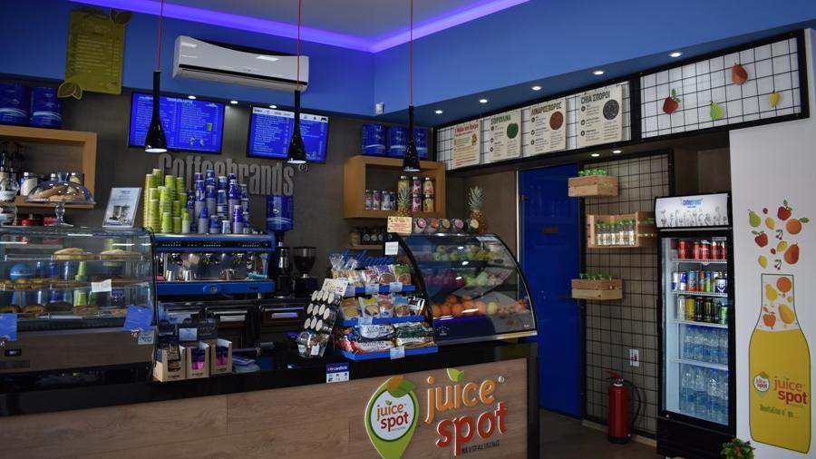 Το «Coffee Brands» στο Άνω Καλαμάκι είναι ο απόλυτος juice spot προορισμός