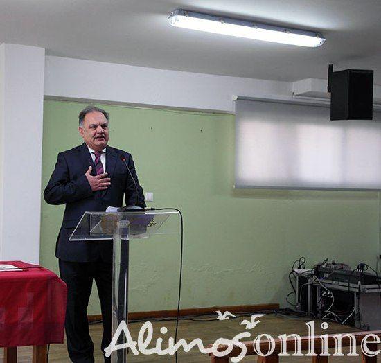 H προεκλογική ομιλία του Θάνου Ορφανού