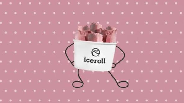 Το Ice Roll κάνει παγωτό τη ροζ σοκολάτα