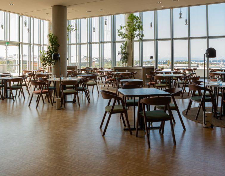 Delta Restaurant: Το νέο εστιατόριο του ΚΠΙΣΝ με executive chef τον Δημήτρη Σκραμούτσο