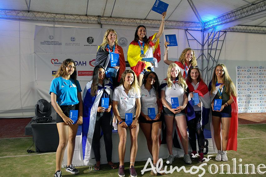 Με ένα μεγάλο πάρτυ στον Ναυτικό Όμιλο Καλαμακίου έληξε το Laser Radial Youth European Championship