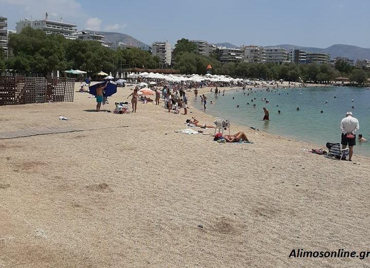 Από νωρίς στις παραλίες οι Αλιμιώτες και οι Αλιμιώτισσες