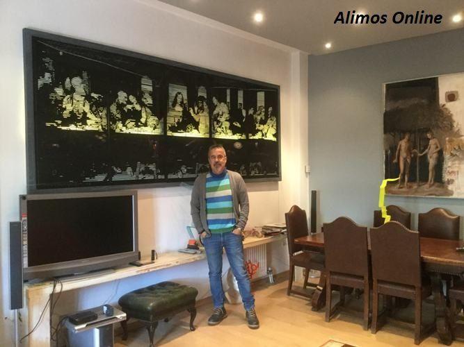O Αλιμιώτης καλλιτέχνης Χρήστος Αντωναρόπουλος συμμετέχει στην έκθεση «Allotria» στην Τήνο