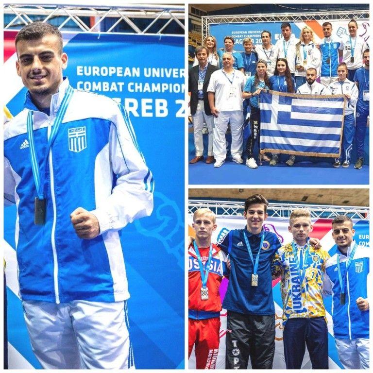 Οι διακρίσεις δύο αθλητών του Α.Σ «ΦΩΚΕΑΣ» στην Ευρωπαϊκή Πανεπιστημιάδα