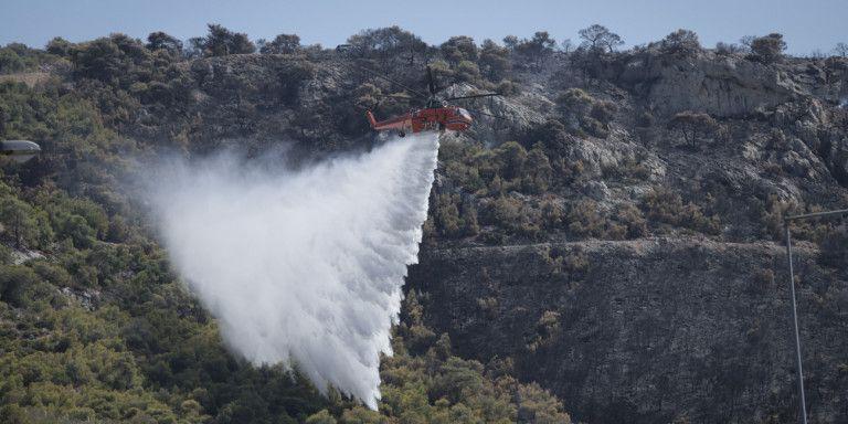 Πυροσβεστική: 56 φωτιές εκδηλώθηκαν το τελευταίο 24ωρο