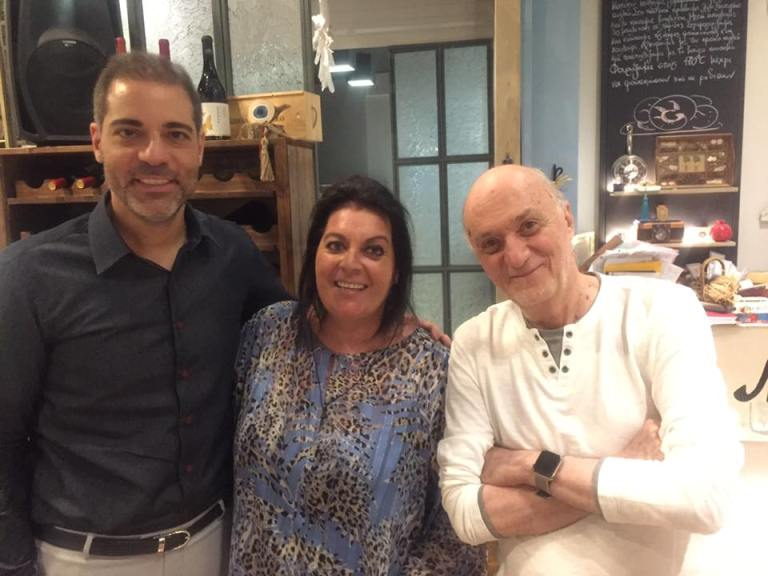 Ο Δήμαρχος, Ανδρέας Κονδύλης, και ο Νίκος Μαστοράκης δείπνησαν στο «Maria's»