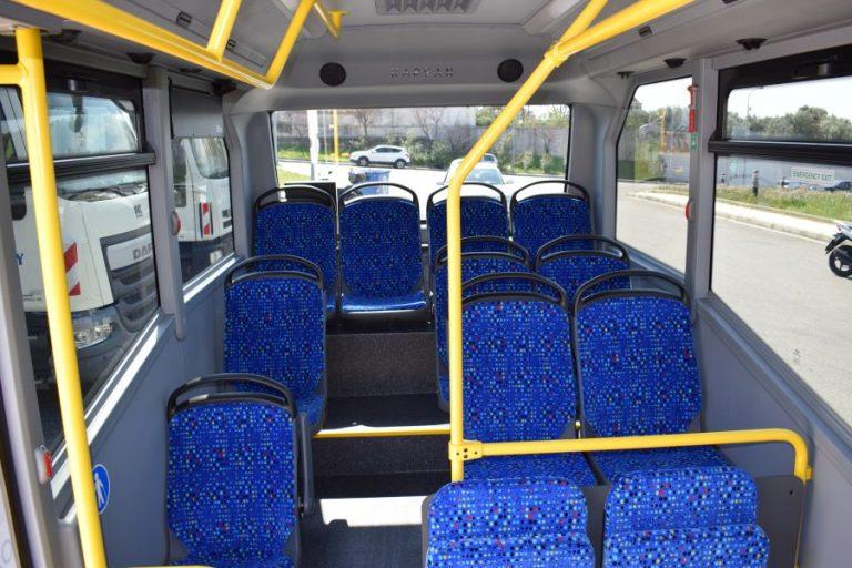 Η σχολική διαδρομή των δημοτικών λεωφορείων