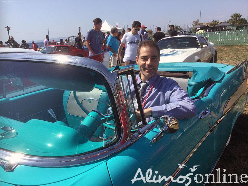 Οι όμορφες κυρίες του Alimos Classic Car Sunday