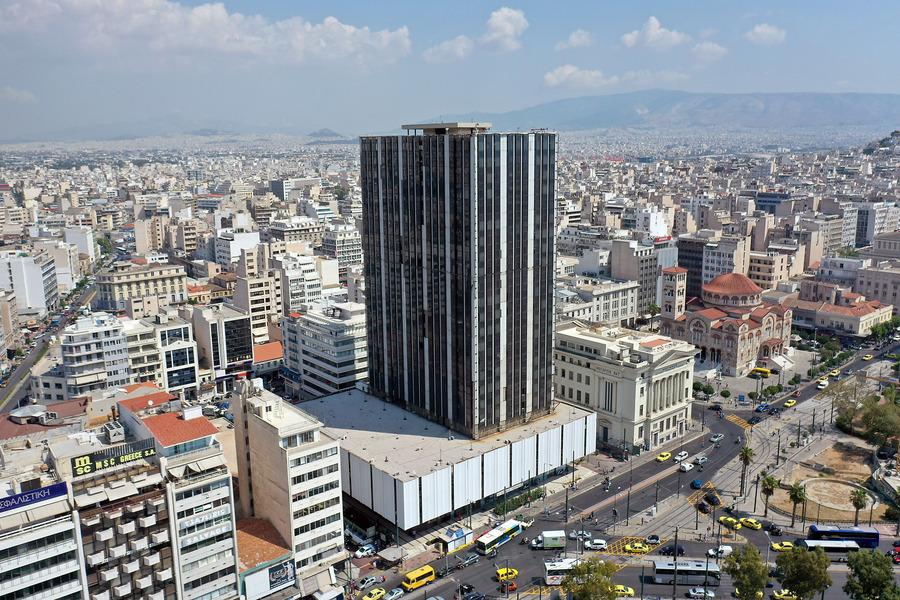 Η αναγέννηση του Πύργου του Πειραιά: Το δεύτερο υψηλότερο κτίριο της Αττικής ετοιμάζεται να γίνει ένα «στολίδι»