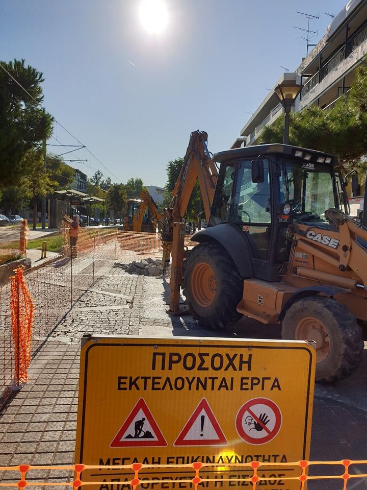 Γλυφάδα: Ξεκίνησαν και πάλι τα έργα στη Μεταξά