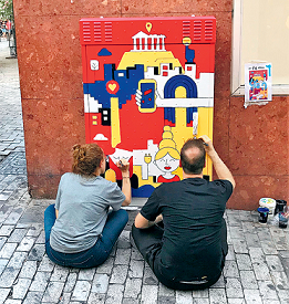 Ανοιχτή πρόσκληση σε καλλιτέχνες: Ζωγραφίζουμε τα ΚΑΦΑΟ του Αλίμου
