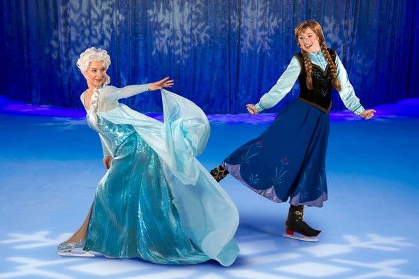 To Disney on Ice παρουσιάζει το «Frozen» για λίγες παραστάσεις στο Taw Kwon Do