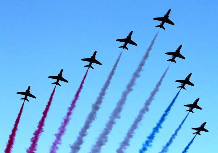 Στον Φλοίσβο η μεγάλη αεροπορική επίδειξη της Πολεμικής Αεροπορίας