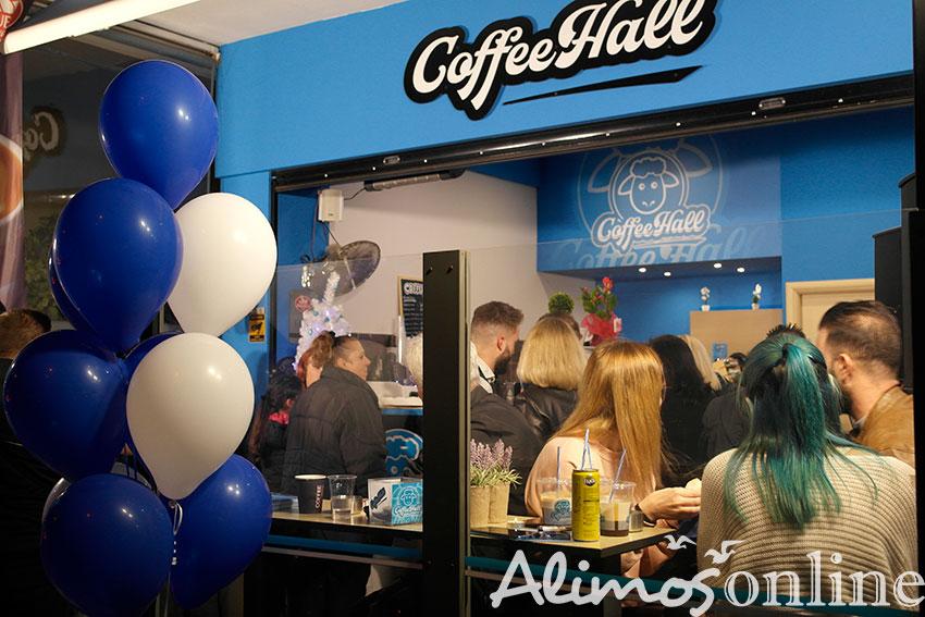 Επίσημα εγκαίνια πραγματοποίησε το «Coffee Hall» στη Λ. Ιωνίας