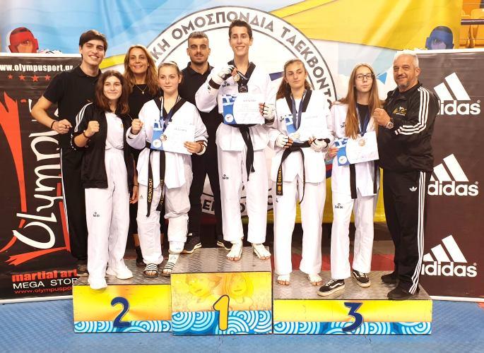 Επτά μετάλλια για τον «Φωκέα» στο Πρωτάθλημα για το Πανελλήνιο Κύπελλο «Γιώργος Βόλλαρης»
