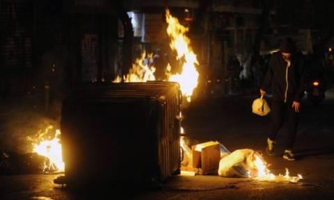 Αργυρούπολη: Έβαλαν φωτιά σε κάδους