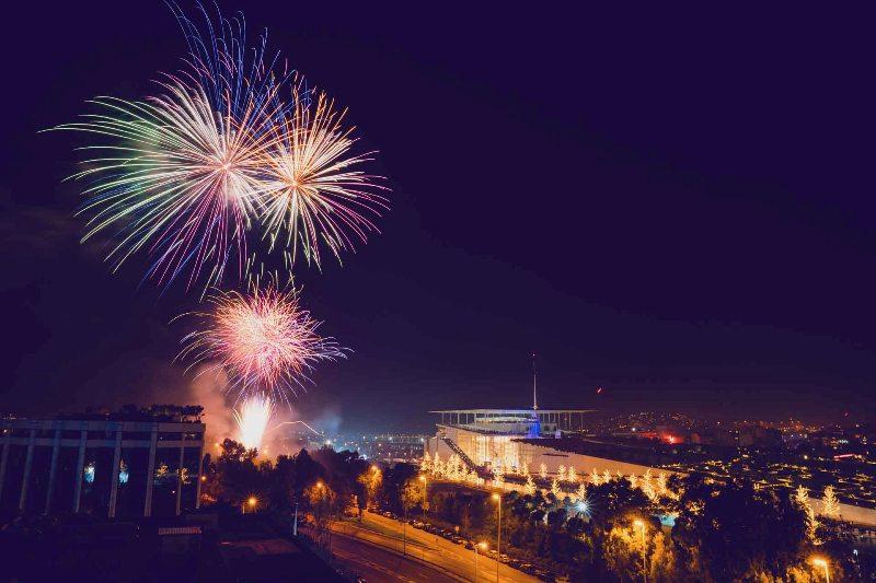 34.000 επισκέπτες υποδέχθηκαν το 2020 στο ΚΠΙΣΝ με μουσική, πυροτεχνήματα και χορογραφημένα σιντριβάνια