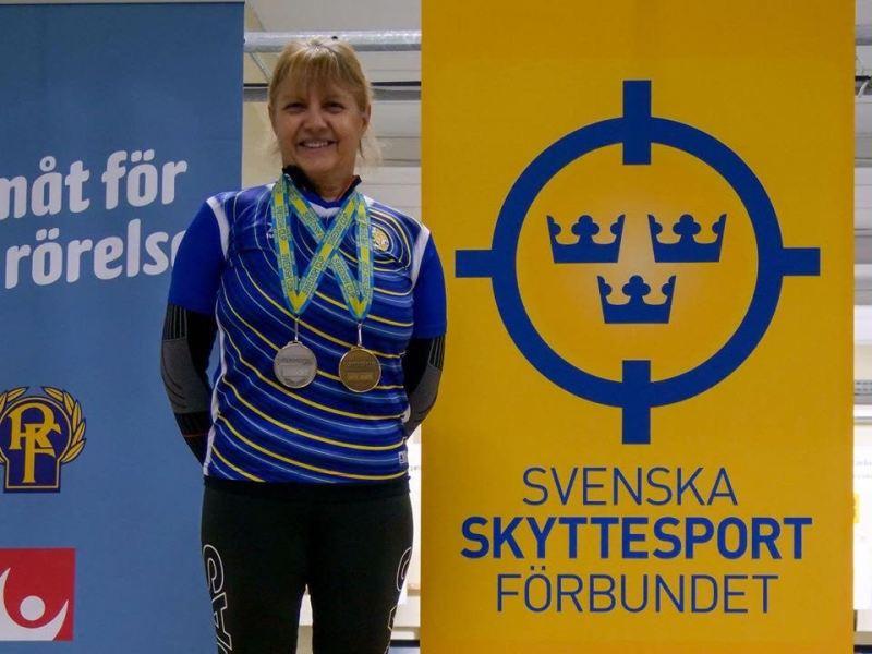 Με μετάλλια επέστρεψε η Αλιμιώτισα Πόπη Τσαντούλα από το Swedish Cup Air Guns 2020