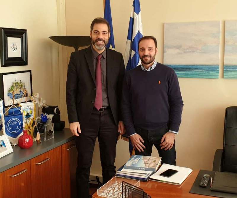 Ο Ανδρέας Κονδύλης συναντήθηκε με τον νέο Πρόεδρο του Αγίου Κοσμά