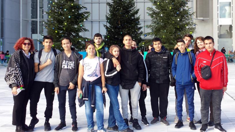 Μαθητές του ΕΠΑΛ Αλίμου επισκέφτηκαν την Εθνική Βιβλιοθήκη στο ΚΠΙΣΝ