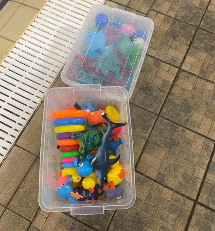 Δημοτικό Κολυμβητήριο Αλίμου: Νέα παιχνίδια για τα Αλιμιωτάκια