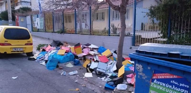 Αργυρούπολη: O Aντιδήμαρχος καθαριότητας κατέθεσε μήνυση σε βάρος του ασυνείδητου δημότη