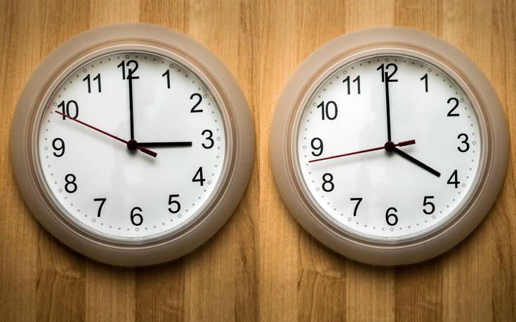 Πότε γυρνάμε τα ρολόγια μας μία ώρα μπροστά
