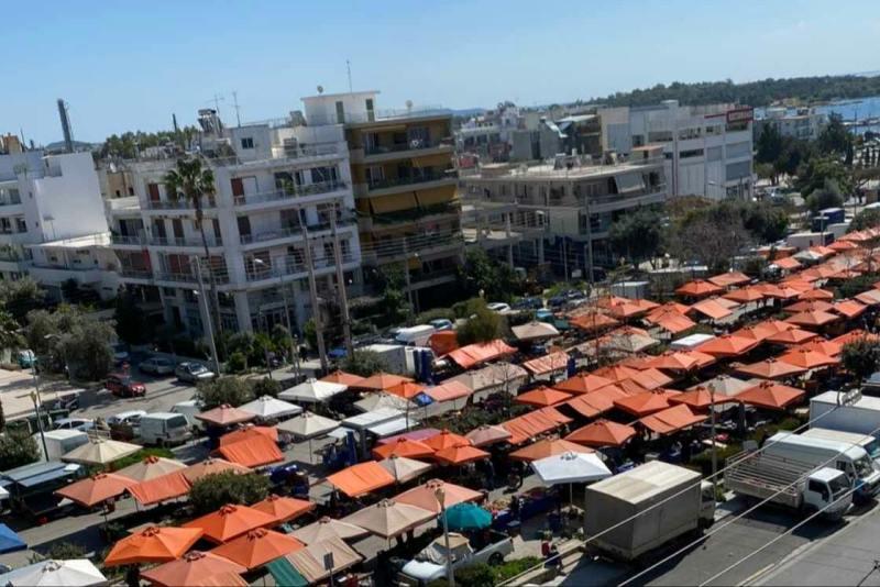 Δήμαρχος Γλυφάδας: «Αποκαρδιωτική η εικόνα της σημερινής λαϊκής αγοράς στη Γλυφάδα»