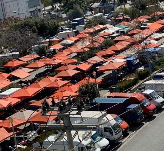 Έκκληση του Δήμου Γλυφάδας προς τους εμπόρους των λαϊκών αγορών ώστε να τηρούνται τα μέτρα ασφαλείας