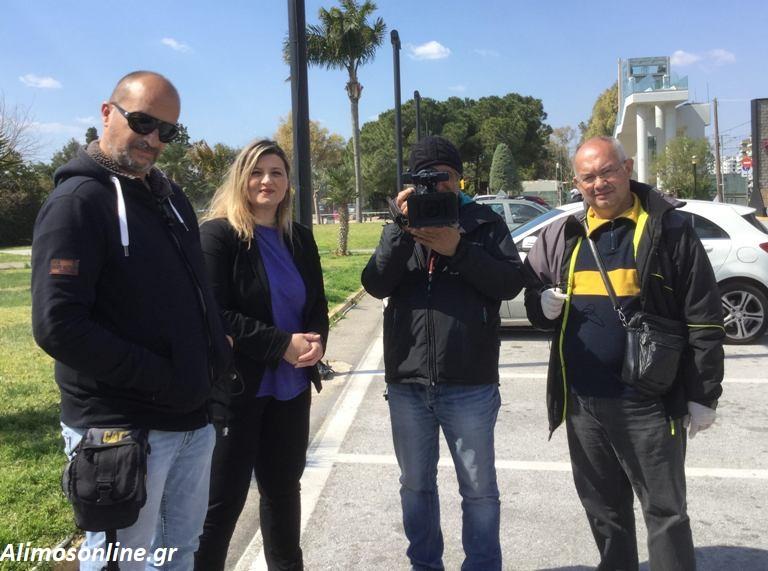 Ο Άλιμος στα ρεπορτάζ του Alpha και της ΕΡΤ 1 για τους «απείθαρχους» κατοίκους