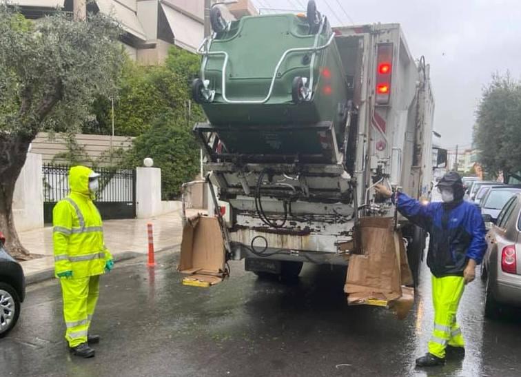 Εμείς «Μένουμε Σπίτι» και το τμήμα Καθαριότητας του Δήμου φροντίζει για εμάς