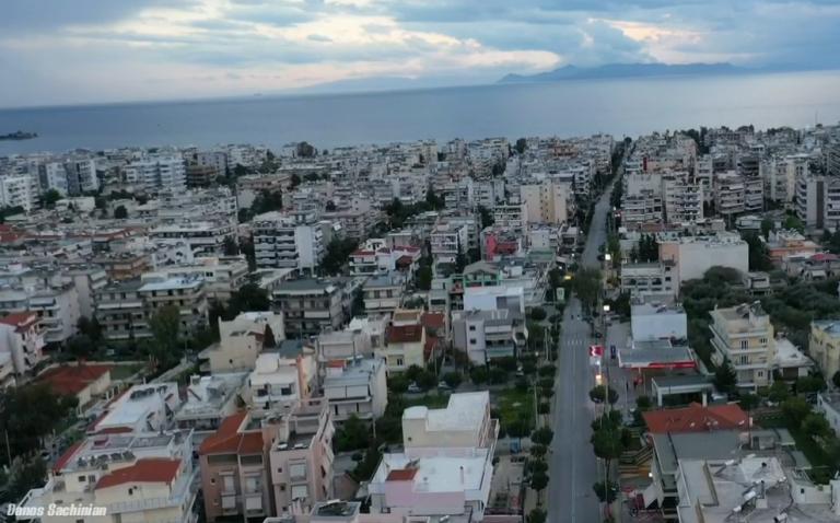 Ο Άλιμος σε καραντίνα – Εντυπωσιακά πλάνα drone από την όμορφη πόλη μας που είναι σε lockdown