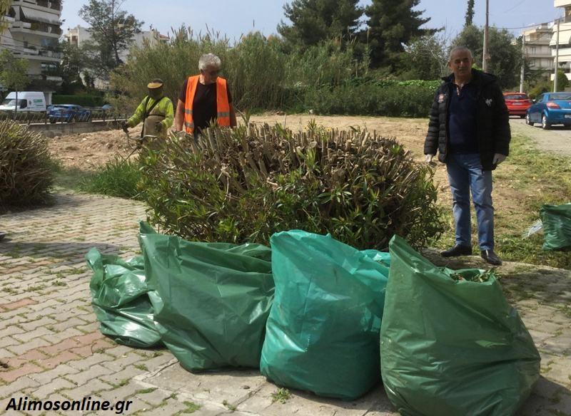 Καθαρισμός και φροντίδα στο ρέμα Αγίου Δημητρίου