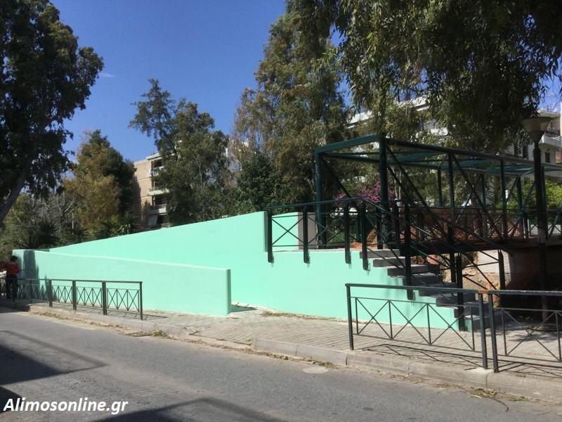 Ολοκληρώνονται οι εργασίες στο γεφυράκι της οδού Αγ. Δημητρίου